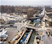 10 صور ترصد الوصلة التي تربط ميناء الإسكندرية بالطريق الدولي الساحلي