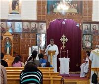 ختام مسيرة الصوم المقدس بكنيسة القديسة تريزا في المحلة الكبرى