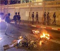 تجدد اشتباكات الشرطة الإسرائيلية مع فلسطينيين بالقدس الشرقية