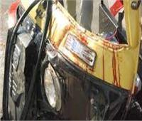 إصابة طالب وربة منزل في انقلاب «توك توك» بالمنيا