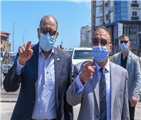 محافظ الإسكندرية يتابع أعمال إصلاح التلفيات بكوبري ستانلي