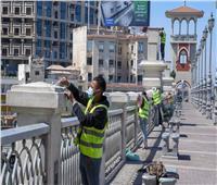 جهاز تعمير الساحل الشمالي: صيانة 8 أنفاق وكباري بأحياء الإسكندرية   صور