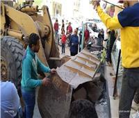 حملات مكبرة لإزالة الإشغالات والتعديات ببورسعيد