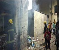 حي المنتزه ثان: حريق عقار المندرة بسبب تجمعات القمامة   صور