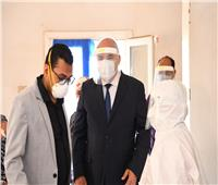يضم 170 سريرا.. افتتاح قسم الحميات بفرشوط لاستقبال مرضى كورونا قريبا| صور