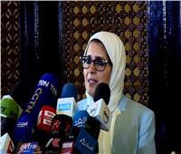 هالة زايد: رصدنا الأطقم الطبية التى توفيت نتيجة إصابتها بالعدوى