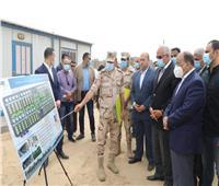 محافظ الجيزة يوجه بسرعة الانتهاء من أعمال معالجة محطة مسجد موسى