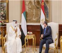بن زايد: بحثت مع الرئيس السيسي المستجدات الإقليمية والدولية