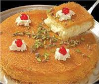 حلويات رمضان| كنافة بالقشطة وجوز الهند