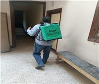 حملات تعقيم وتطهير بمركز منفلوط في أسيوط