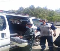 حملات تطهير مواقف السيارات والمنشآت الخدميةفى «المنيا»
