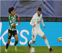 الشوط الأول| التعادل السلبي لمباراة ريال مدريد وريال بيتيس