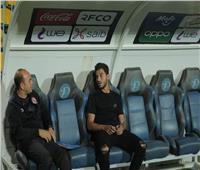 طبيب الأهلي يعقد جلسة مع حمدي فتحي