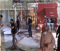 العراق: السيطرة على حريق «ابن الخطيب».. وأنباء عن وفاة 23 مصاب بكورونا