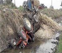 مصرع وإصابة 3 في حادث تصادم ببني سويف