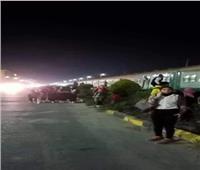 دون إصابات.. انفصال عربة بقطار أبو قير شرق الإسكندرية |صور