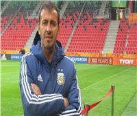 مدرب الأرجنتين الأولمبي: أحترم جميع المنافسين.. ومجموعتنا هي الأصعب