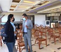 نائبة وزير السياحة: تطعيم العاملين لبث رسالة طمآنة للسائحين بالآمان في مصر