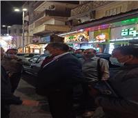 تحرير 40 مخالفة عدم ارتداء كمامة وإغلاق مقهى مخالف بدمياط