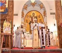 البابا تواضروس يترأس قداس أحد الشعانين من الإسكندرية  صور