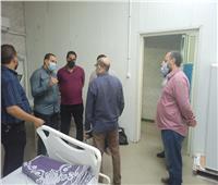 وكيل صحة أسيوط يفاجئ مستشفيات المحافظة بعد منتصف الليل
