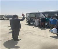 مساعد وزير الخارجية يستقبل الصيادين المصريين العائدين من إريتريا