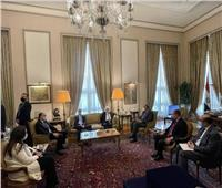وزير الخارجية يؤكد موقف مصر الداعم للحل السياسي للأزمة اليمنية