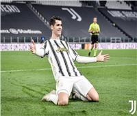 «موراتا» يسجل هدف تعادل يوفنتوس على فيورنتينا(1-1)