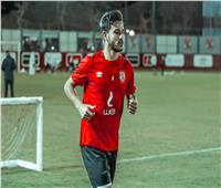 حمدي فتحي يبدأ الجري حول الملعب ويواصل تنفيذ برنامجه التأهيلي
