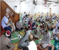 محافظ الوادي الجديد يدعم مسجد بـ١٠ آلاف جنيهلشراء تكييفات