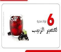 6 فوائد سحرية لعصير الزبيب