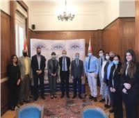 «رجال أعمال الإسكندرية» تبحث سبل التعاون مع المنسق المقيم للأمم المتحدة