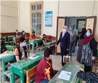وسط إجراءات احترازية مشددة.. الإنتهاء من اليوم الأول لامتحانات شهر إبريل ببني سويف