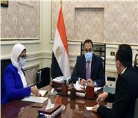 رئيس الوزراء يتابع مع وزيرة الصحة موقف تنفيذ منشآت «حياة كريمة»