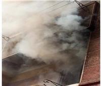 السيطرة على حريق نشب داخل منزل بمدينة القرين في الشرقية   صور