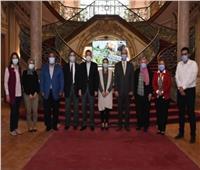 إعلان الفائزين فى مسابقة جامعة عين شمس لإعداد أفضل خطة تسويقية