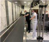 محافظ أسوان يتفقد المطار الدولي ويتابع الإجراءات والاحترازية ضد كورونا