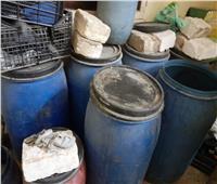 إعدام 23 كيلوجرام أغذية فاسدة في بني سويف