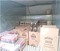 ضبط ٢٢٨٠ عبوة مشروبات كحولية بأسيوط قبل توزيعها بطرق غير قانونية