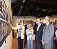 السفير الإيطالي يفتتح معرض إبداعاتالمعماريين الايطاليين على أرض مصر