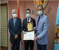 مجلس جامعة سوهاج يكرم الفائزينبجوائز الدولة التقديرية والتشجيعية