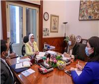 وزيرة الصحة تؤكد إتاحة برامج تدريبية لإعداد الأبحاث العلمية والطبية