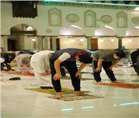 شعائر صلاتي العشاء والتراويح ليلة 16 رمضان بالجامع الأزهر   شاهد