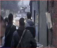 «الاختيار 2»   اعتراض سيارة مفخخة استهدفت خط سير المشير السيسي
