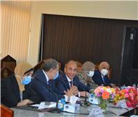 سعفان بجامعة الزقازيق: عمال مصر يساهمون في إعمار ليبيا خلال الشهور القادمة
