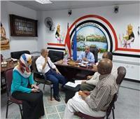 «وكيل تعليم أسوان» يترأس لجنة صندوق الجزاءات لمناقشة القواعد المنظمة للصرف