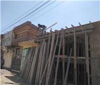 تكثيف أعمال النظافة بالقرى ورفع مخالفات البناء وإزالات بقري المحلة