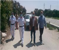 إزالة 6 حالات تعدٍ على أراضي الدولة في الإسماعيلية