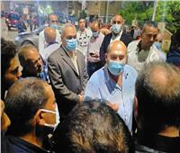 نائب محافظ الجيزةيتفقد قرية المعتمدية وبرك الخيام في كرداسة | صور