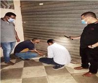 غلق 11 مقهى مخالف وتحرير 15 محضر كمامة بمركز أخميم بسوهاج